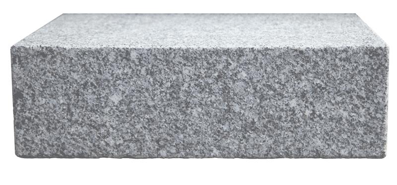 Link Naturteine Blockstufe Granit PM white hellgau